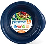 Preserve Set of 4 Everyday 16-Ounce Bowl, Midnight Blue