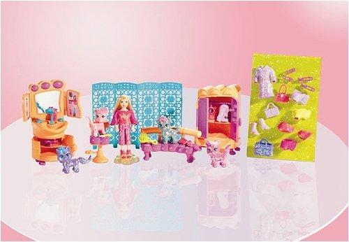 Buy Low Price Mattel Polly Pocket Totally Trendy Pets Paw Spa Playset Figure (B0010KGDEG)