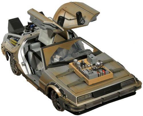 Back To The Future Part III - 1/15 Scale Replica: Delorean Mark 3 (Rail Ready Ver.)