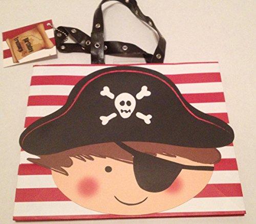 Medium Size Pirate Birthday Treasure Gift Bag