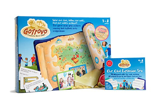gotrovo-bumper-value-treasure-scavenger-hunt-with-expansion-pack-indoor-outdoor-fun-game-toy-for-kid