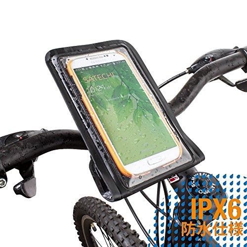 Satechi RideMate 自転車用スマートフォンホルダー (防水ブラック) [並行輸入]