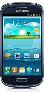 Samsung Galaxy SIII Mini UK Sim Free Smartphone - Blue