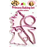 Annabel Karmel Princess Cookie Cutter Baking set - Perfect for a Little Princess!