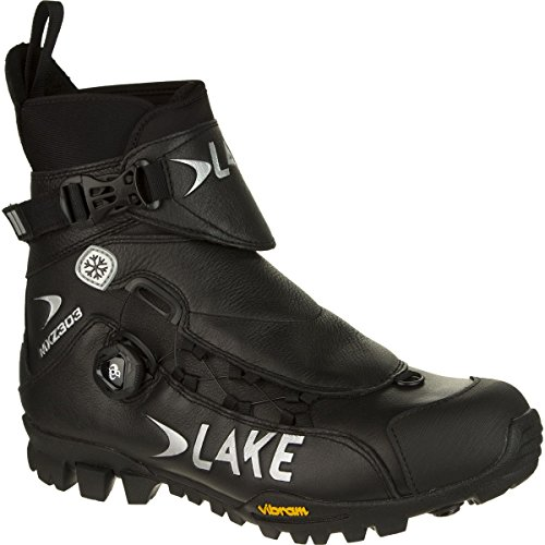 Lake MXZ303 Winter Cycling Boot - Men's Black, 45/Reg (Lake Winter Cycling Shoes compare prices)