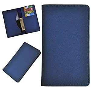 DCR Pu Leather case cover for Samsung Galaxy S4 Zoom (blue)