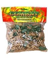 Guaranteed4Less Lot de 100 soldats en plastique