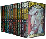 Lemony Snicket A Series of Unfortunate Events Collection 13 Books Set (The Bad Beginning, The Reptile Room, The Wide Window, The Austere Academy, The Miserable Mill, The Ersatz Elevator, The Vile Village, The Carnivorous Carnival, The Hostile Hospital)