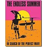 "Endless Summer - Poster Metal Tin Sign 12.5""W x 16""H"