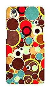 SWAG my CASE PRINTED BACK COVER FOR OPPO A37 Multicolor