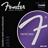 51OVDkde24L. SL160  Fender Accessories 073 7350 406 Stainless Steel Bass Guitar Strings, Light