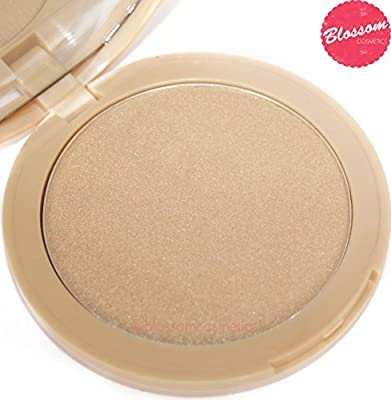 W7 GLOWCOMOTION Highlighter Shimmer Compact Highlighting Golden Shimmering Powder NEW