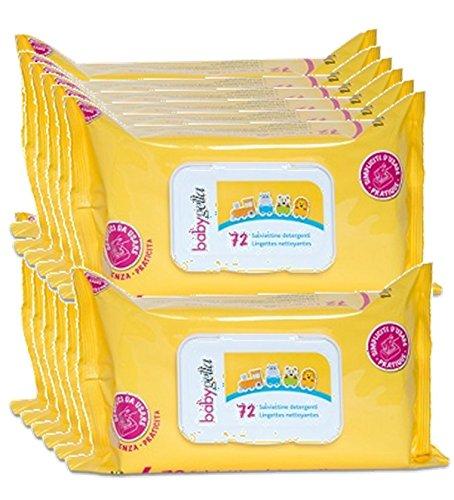 babygella salviette 12 confezioni