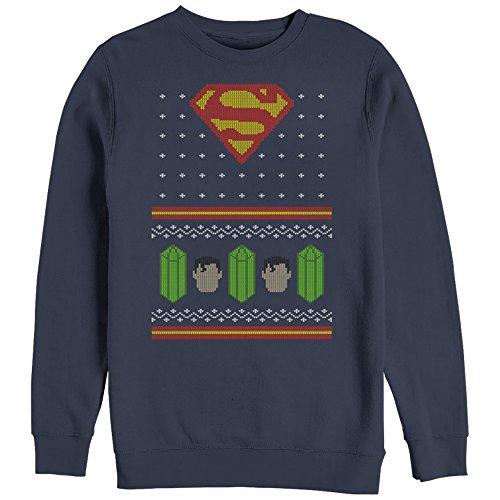 Superman Ugly Christmas Sweatshirt