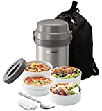 Zojirushi SL-JAE14 Mr. Bento Stainless Steel Lunch Jar