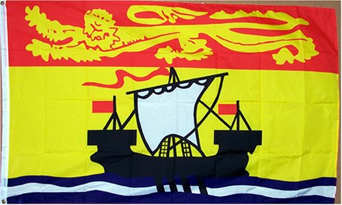 New Brunswick Province Flag