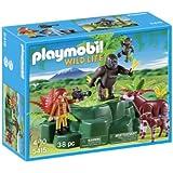 Playmobil Wild Life - Animales: gorilas y okapis (5415)