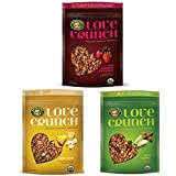 Nature's Path Love Crunch Premium Organic Granola Variety Pack Of 3 (Dark Chocolate & Red Berries, Aloha Blend...