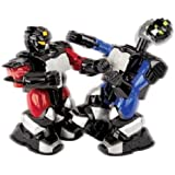 Cyber Boxing Robots Remote Control Cordless Head 2 Head RC Boxing by The Black Series by Shift