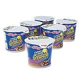 Kelloggs 01474 Breakfast Cereal, Raisin Bran Crunch, Single-Serve 2.8oz Cup, 6 Cups-Box