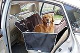 Ondoing Autoschondecke für Hunde Rücksitz Rutsch 150*130*30cm Braun