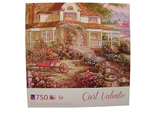 Carl Valente 750 Piece Jigsaw Puzzle: A Country Welcome
