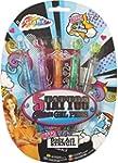 Grafix 5 Tattoo Glitter Gel Pens with...