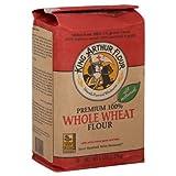 King Arthur Flour Flour Premium 100% Whole Wheat 5 Lb 2 Packs