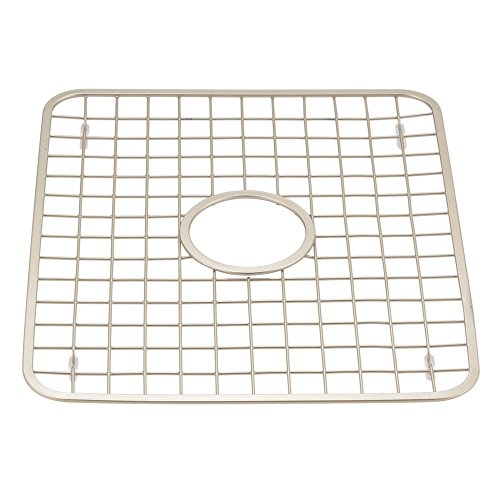 interdesign gia kitchen sink protector grid mat regular with hole satin home garden dining. Black Bedroom Furniture Sets. Home Design Ideas