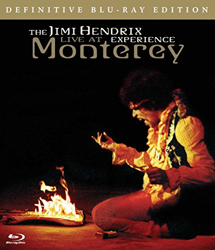 Blu-ray : Jimi Hendrix - The Jimi Hendrix Experience: Live at Monterey