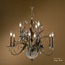 Hot Sale Uttermost 21094 Cristal de Lisbon 9+2-Light Chandelier