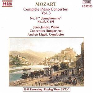 """Piano Concertos No. 9 K. 271 """"Jeunehomme"""" and No. 27 K. 595"""
