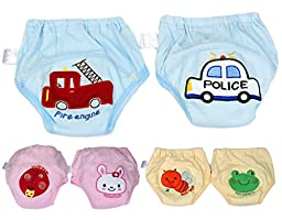 BONAMART ®6pc Toddler Baby Kids Boys Girls Underwear Training Pants 80-100