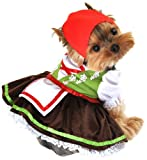 Anit Accessories Alpine Girl Dog Costume, Medium, 16-Inch