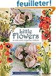 Little Flowers in Silk and Organza Ri...