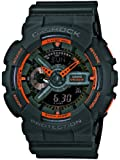 Casio Herren-Armbanduhr XL G-Shock Analog - Digital Quarz Resin GA-110TS-1A4ER
