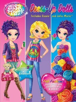 Lisa Frank Dress Up Dolls (Includes Cassie & Jolie Marie)