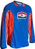 JT Racing USA Pro-Tour Jersey (Blue/Red, Medium)