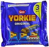 Nestlé Yorkie Milk Chocolate 165 g (Pack of 16, Total 48 Bars)