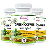StBotanica Green Coffee Bean Extract For Weight Loss - 100% Pure 800mg - 90 Veg Capsules - Buy 2 Get 1 Free