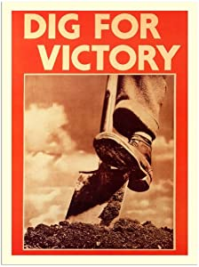 Dig For Victory War Poster Gb 1940s 30x40cm Art Print
