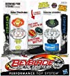 Beyblade, Metal Masters, Exclusive Burning Fire Strike Set (Burn Fireblaze #BB-59A and Poison Scorpio #B-110), 2-Pack