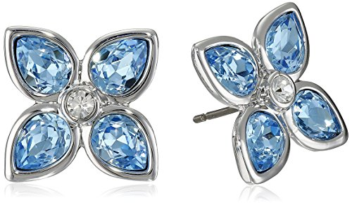 Ted Baker Floa Gem Flower Blue Stud Earrings