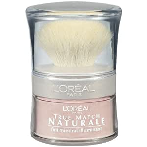 L'Oreal True Match Naturale Luminizing Face Powder, Translucent Rose 403 0.15 oz (4.5 g)