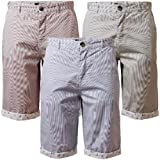 Mens Chino Shorts Summer Designer Cotton D Code 1G 2295 Casual Pin Stripe
