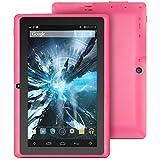 "ProntoTec 7"" Android 4.4 KitKat Tablet PC, Cortex A8 1.2 GHz Dual Core Processor,512MB / 4GB,Dual Camera,G-Sensor (Pink)"