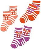 Pumpkin Patch 3 Pack Girls Bow Stripe Girl's Socks