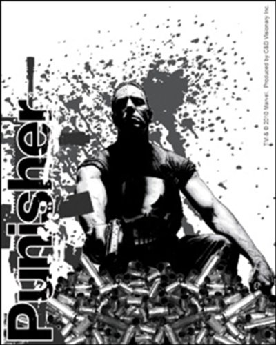 Licenses Products Marvel Extreme Punisher Bullet Sticker - 1