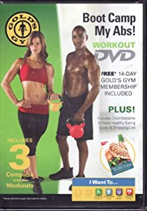 Boot Camp Dvd : gold 39 s gym boot camp my abs workout dvd exercise and fitness video recordings ~ Russianpoet.info Haus und Dekorationen