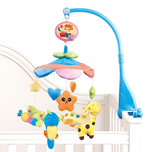 NextX-Flash-B201-Baby-Boy-Girl-Bedding-Crib-Musical-Mobile-with-Hanging-Rotating-Soft-Colorful-Plush-Dolls-Animal-Friends-Electric-Music-Box-20-melodies-Educational-Toy